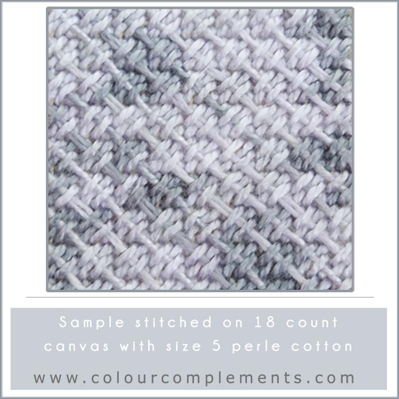 SPRING COLOURS, grey perle cotton