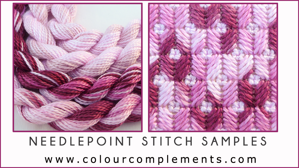 SPRING COLOURS, Valentine, pink embroidery thread