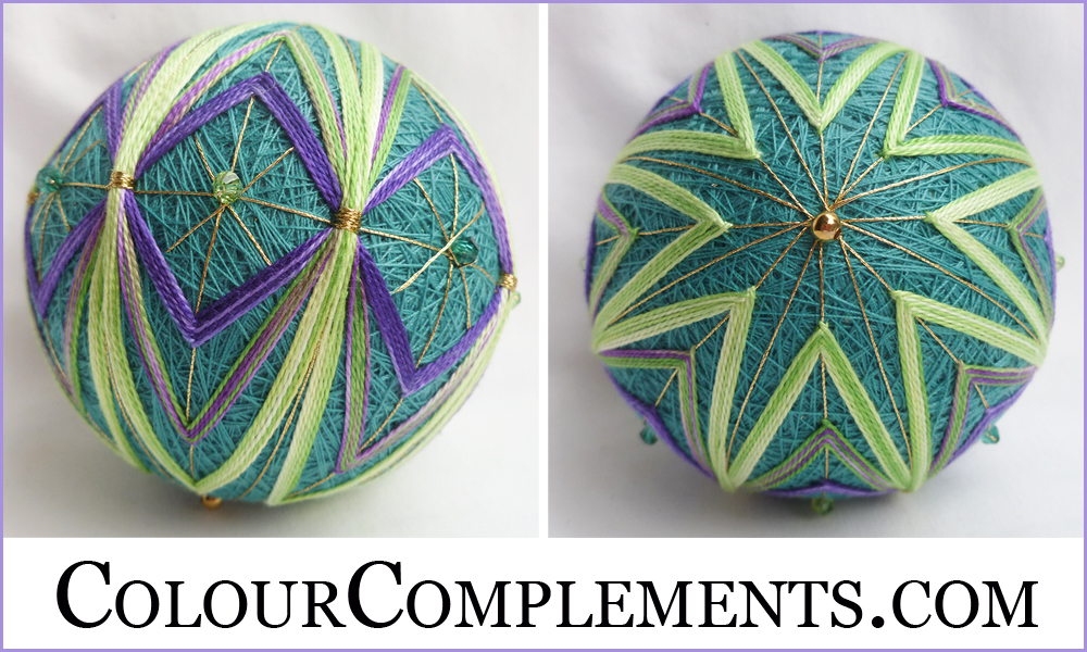 TEMARI, Colour Complements, hand dyed perle cotton