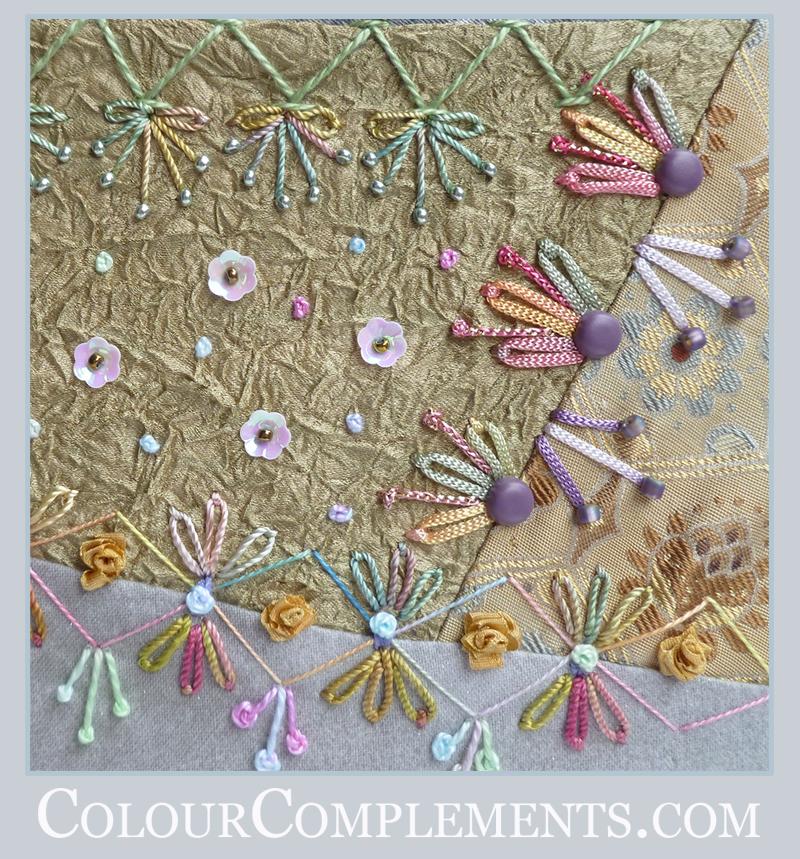 CRAZY QUILTING, Colour Complements