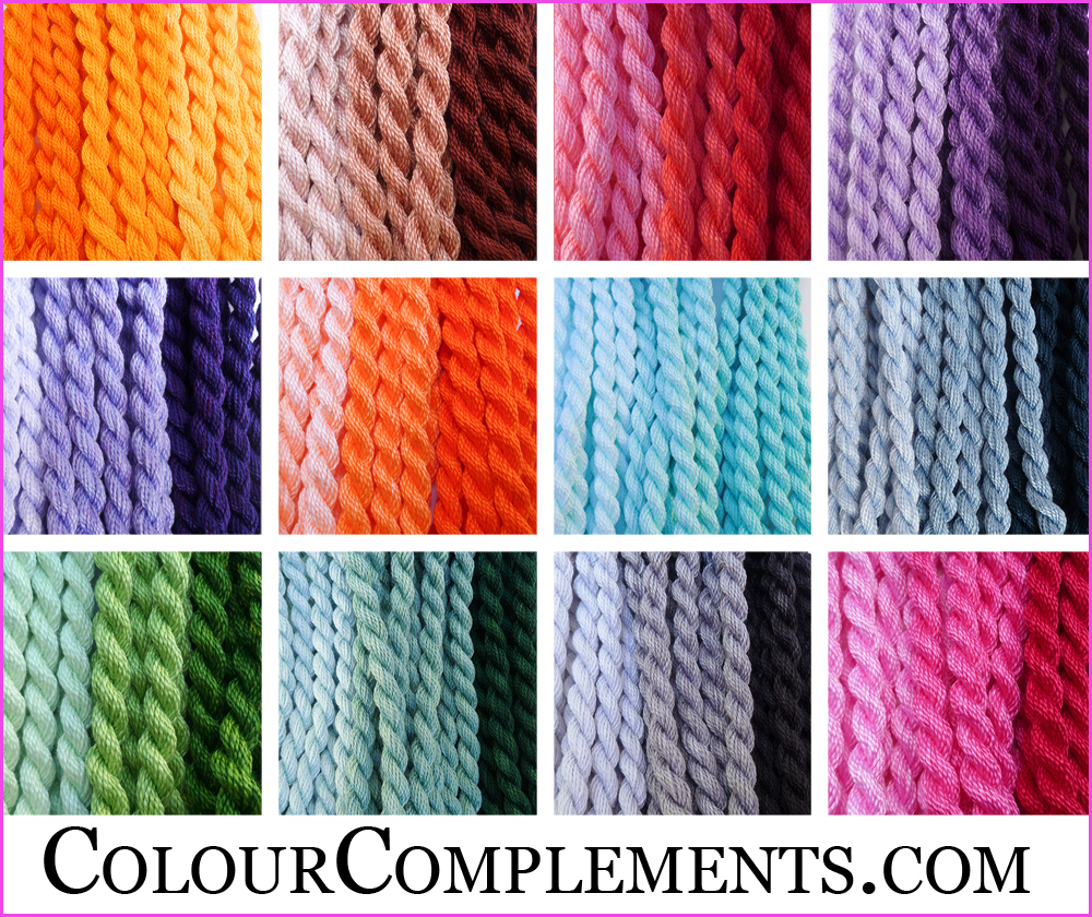 SIZE 5 PERLE SOLIDS