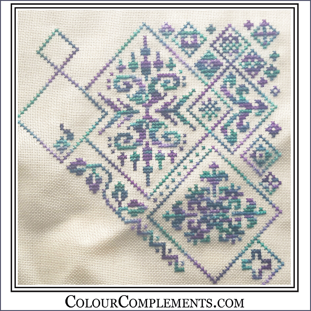 EMBROIDERY, cross stitch
