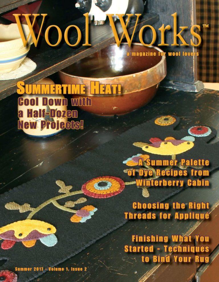 WOOL WORKS MAGAZINE