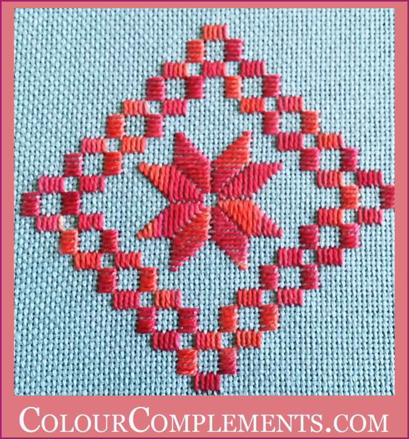 HARDANGER, hand dyed embroidery threads