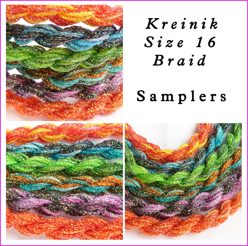 KREINIK BRAID, hand dyed braid