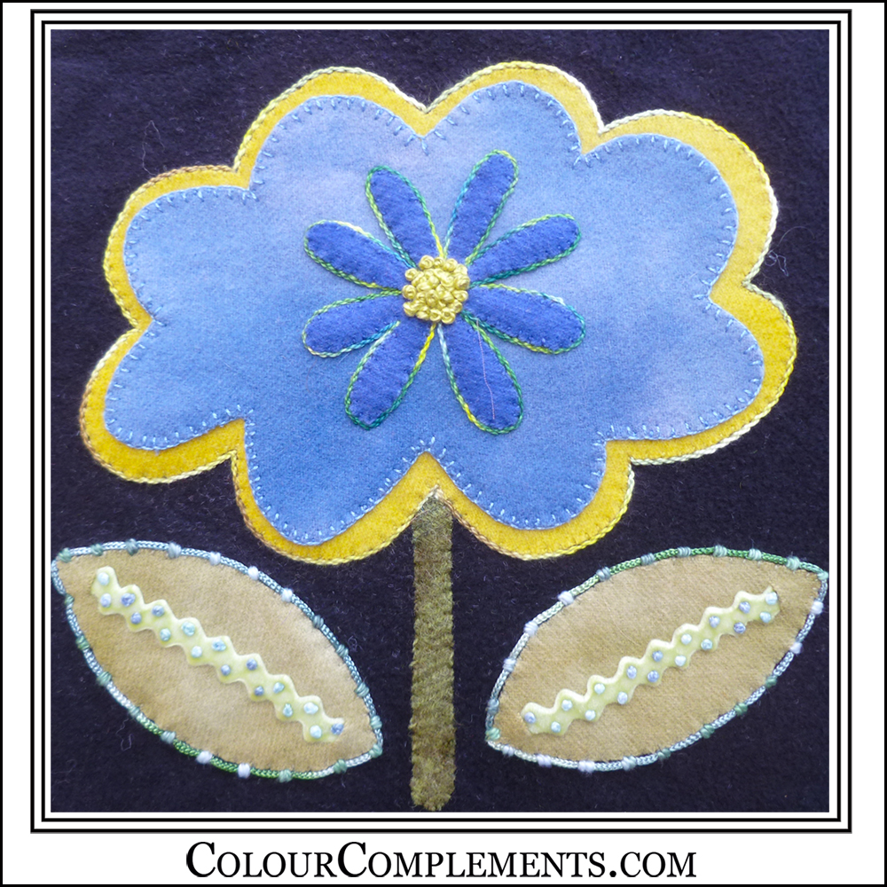 WOOL APPLIQUE, Bloomin Beauties