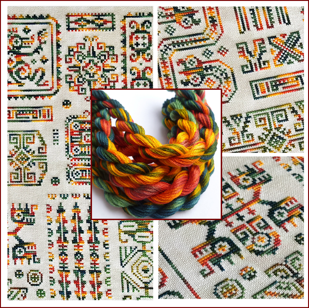 CROSS STITCH, Colour Complements Threads