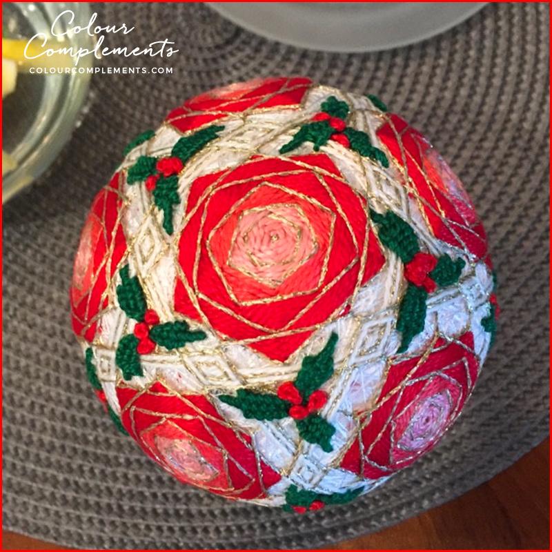 TEMARI, hand dyed embroidery thread