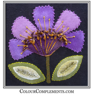 WOOL APPLIQUE