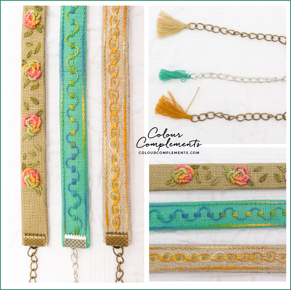 EMBROIDERY, Colour Complements threads