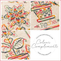CROSS STITCH, Colour Complements hand dyed floss