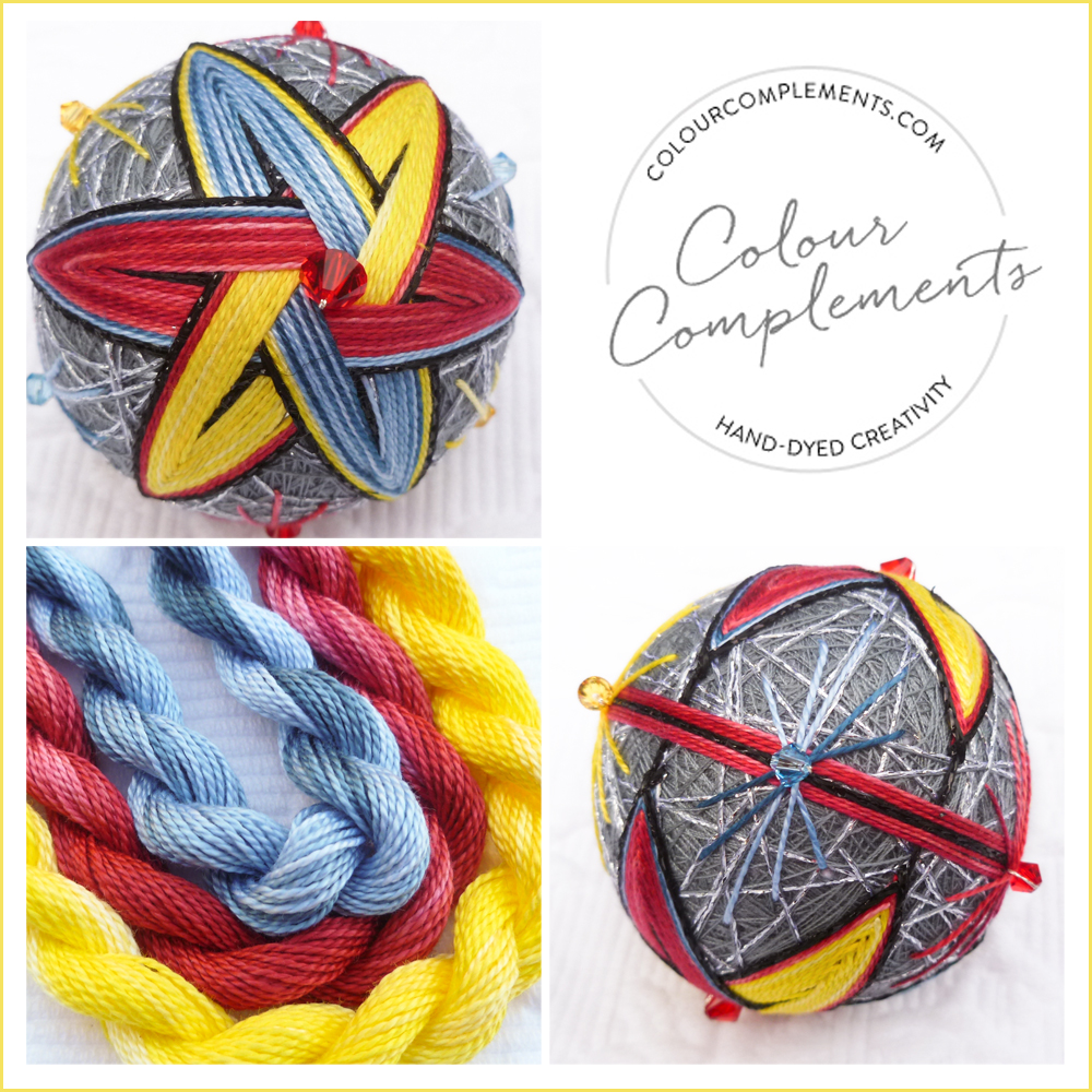 TEMARI, Colour Complements threads