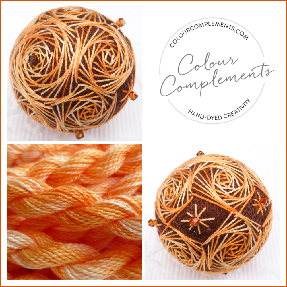TEMARI, Colour Complements embroidery threads