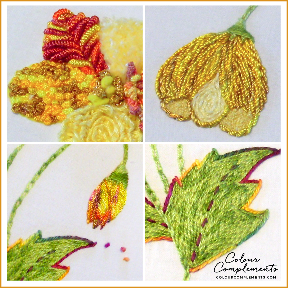 EMBROIDERY, Hand Dyed Embroidery threads
