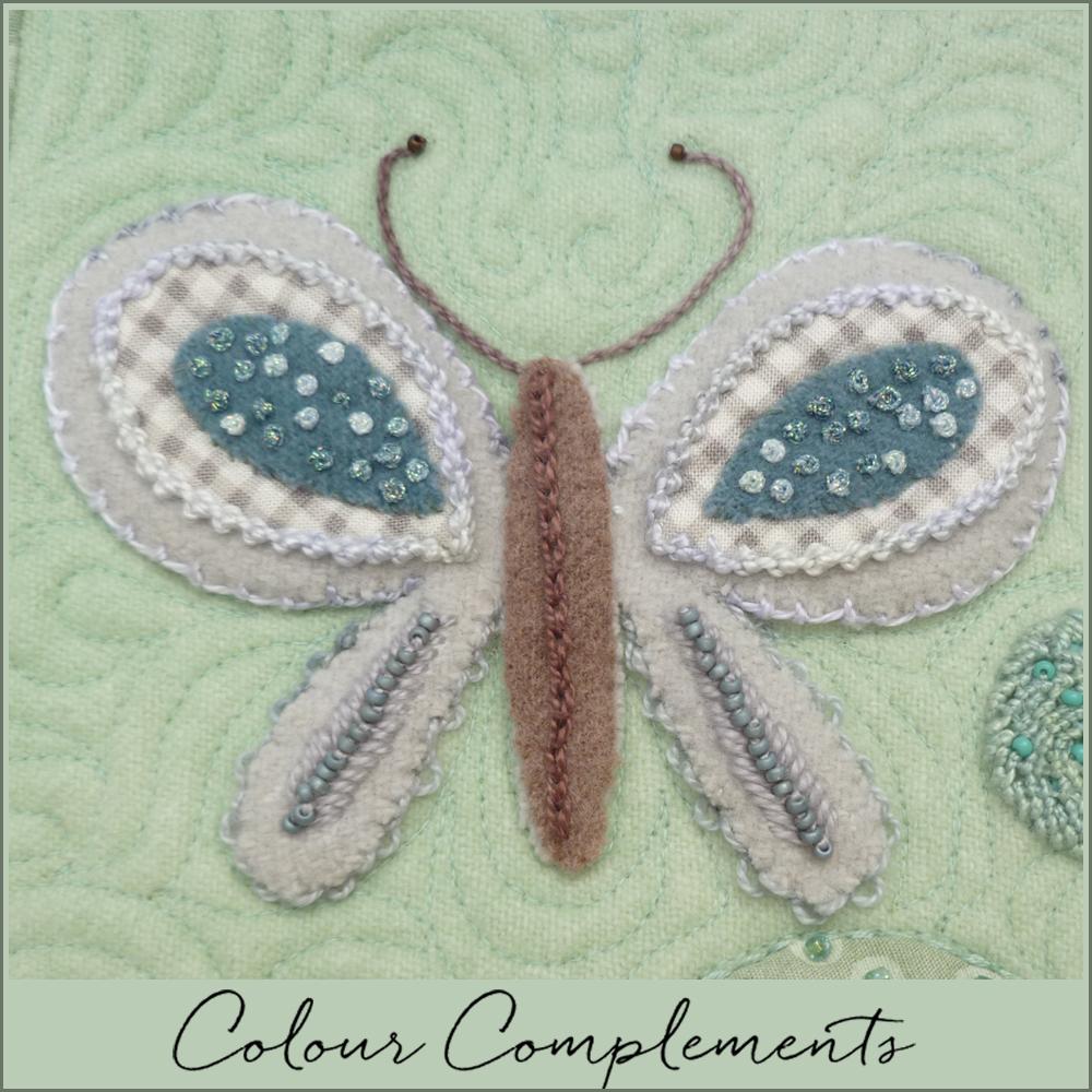 WOOL APPLIQUE, Colour Complements threads