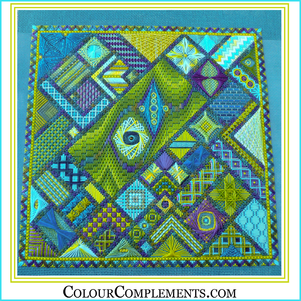 AUTUMN KALEIDOSCOPE, Colour Complements Embroidery Threads