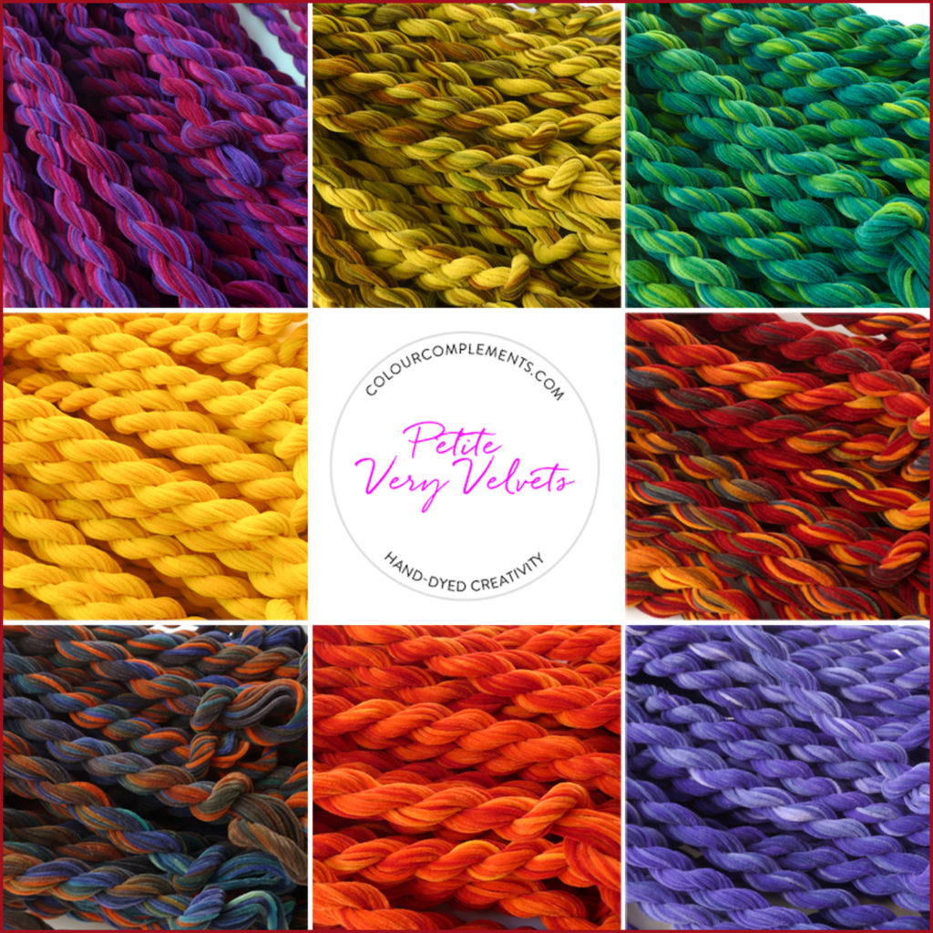 Petite Very Velvet, Colour Complements Embroidery Threads