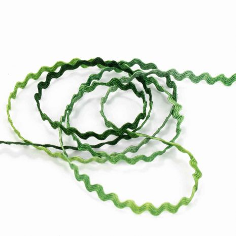 green-rayon-ric-rac-hand-dyed