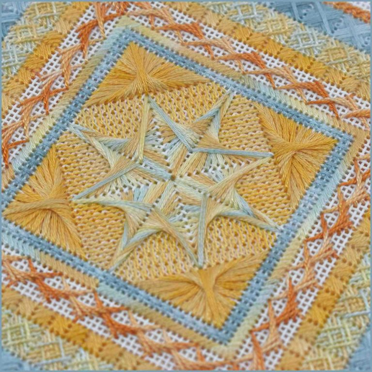 Sea Star Counted Canvas