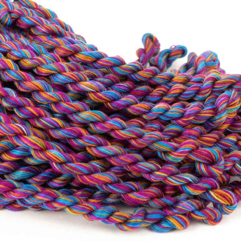 Multi-Coloured Cotton Floche – Colour #8