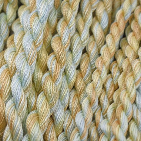 turquoise-tan-yellow-perle-cotton