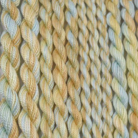 turquoise-tan-yellow-perle-cotton-colour-60