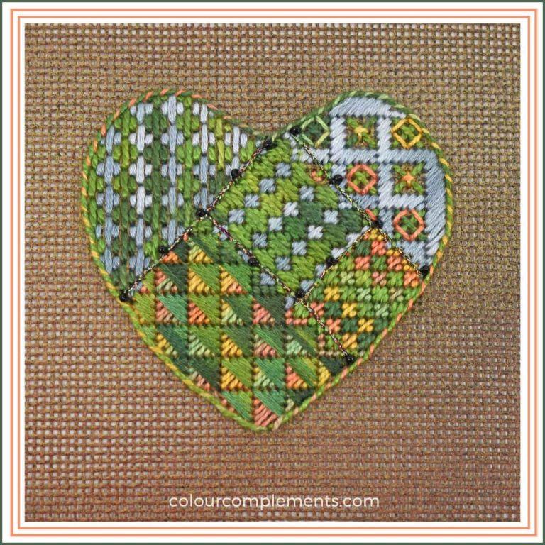 Needlepoint Heart