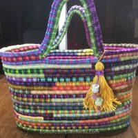 crocheted-bag