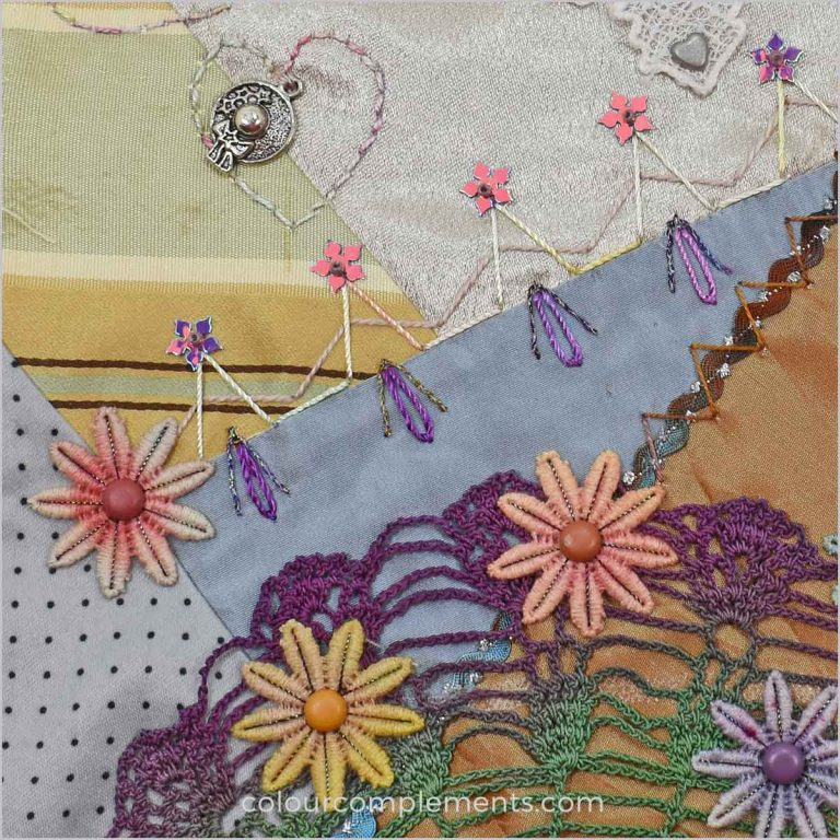 Doilies in Crazy Quilting