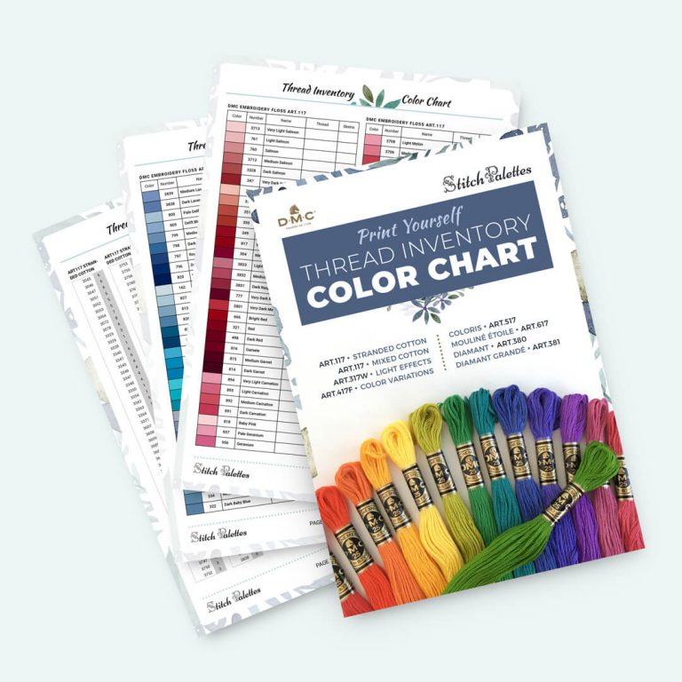 Thread Inventory Colour Chart