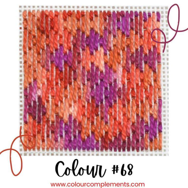 Stitch Sample Colour #68