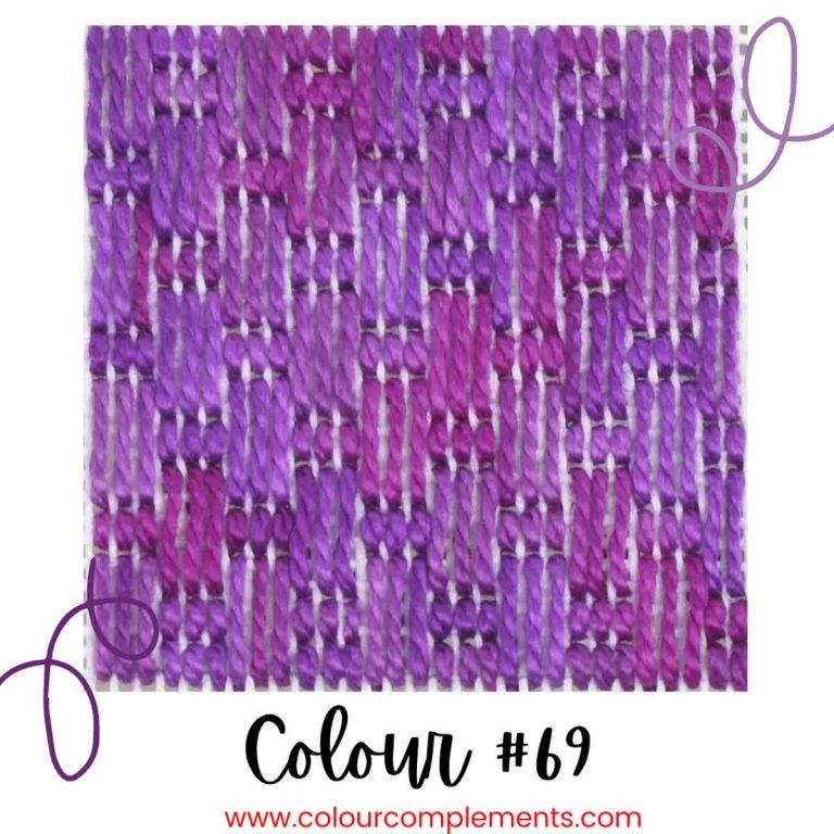 Stitch Sample – Colour #69