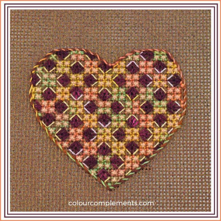 Small Needlepoint Heart