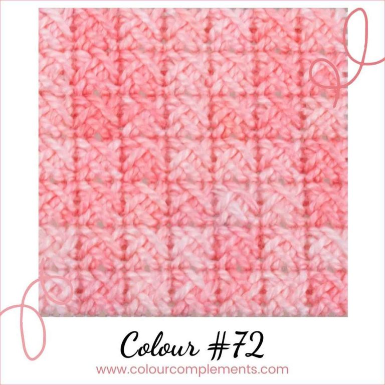 Stitch Sample Colour 72