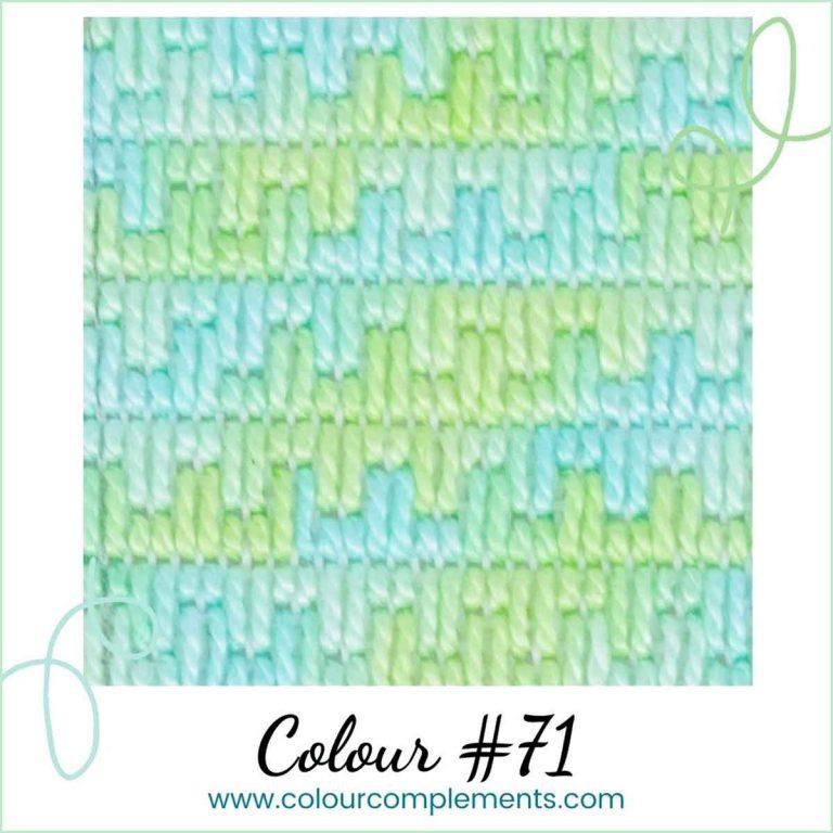 Stitch Sample #71