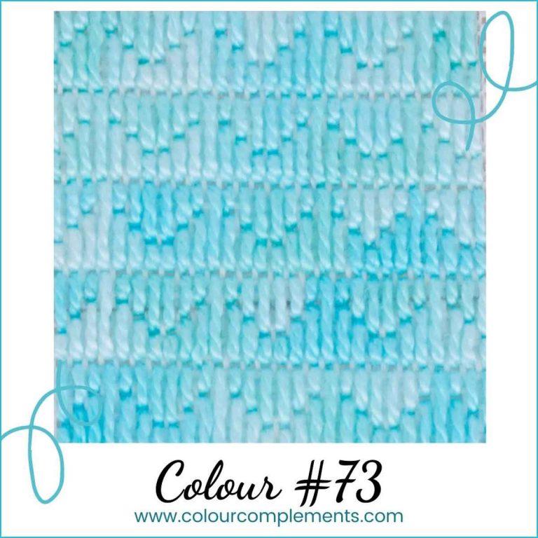 Needlepoint Stitch Sample | Colour #73