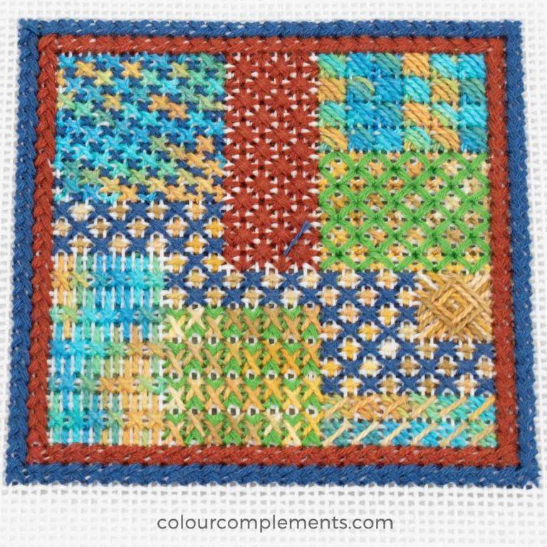 Crossed Stitches Sampler