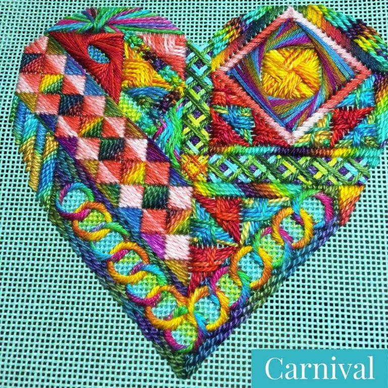 Carnival Needlepoint Design