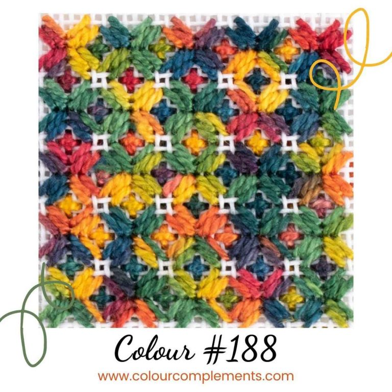 Stitch Sample – Colour #188