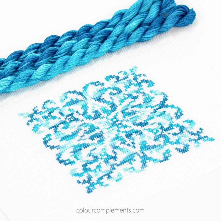 Blue Cotton Floss