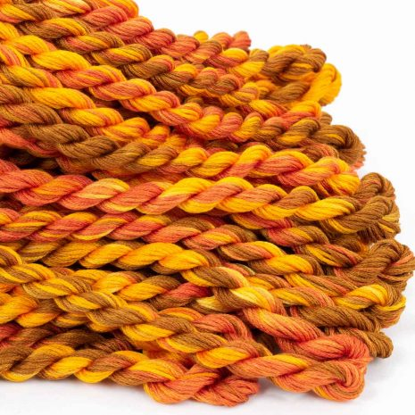 golden-brown-and-orange-cotton-floss