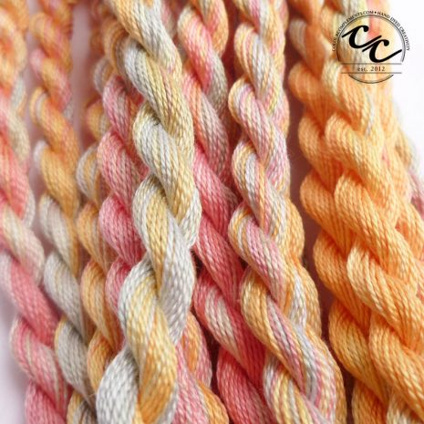 pink-green-orange-embroidery-threads-colour-complements