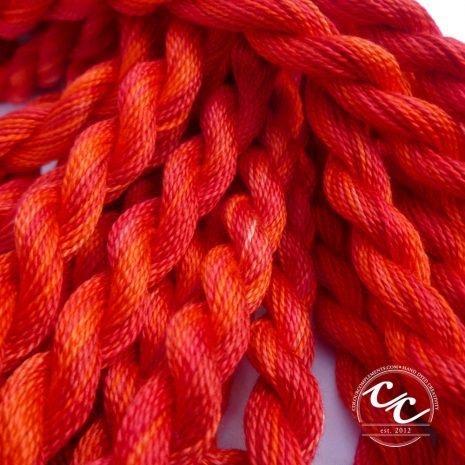 red-perle-cotton-colour-complements