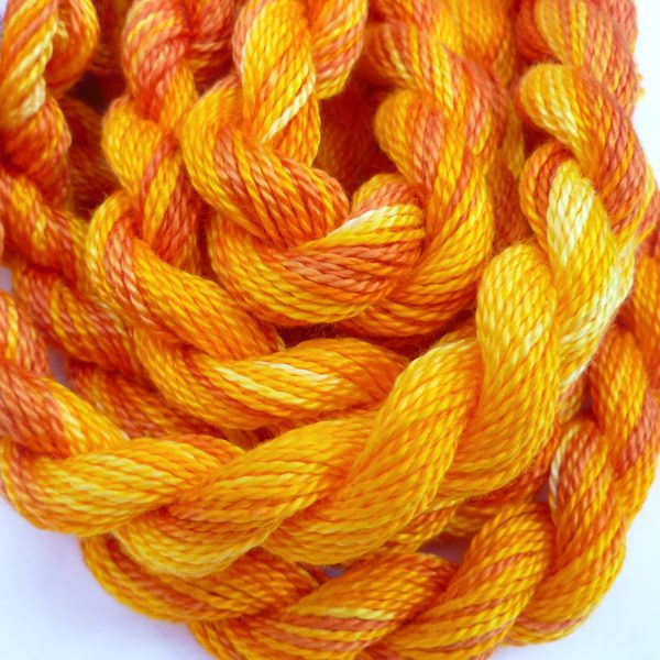golden-yellow-orange-embroidery-threads-colour-complements