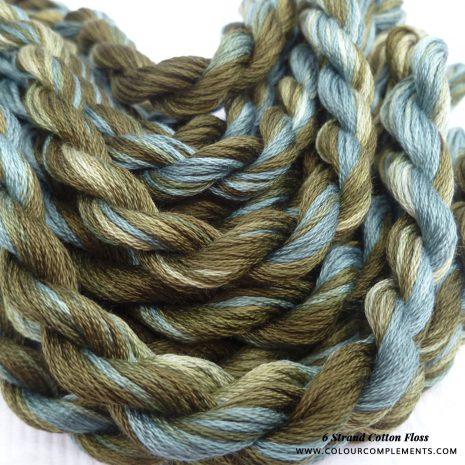 olive-green-blue-cotton-floss-colour-complements