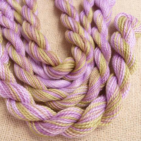 purple-green-perle-cotton-colour-complements